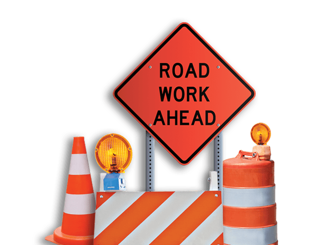 Construction Traffic Control : Traffic control services roadway construction service