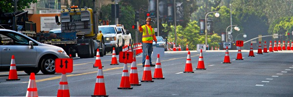Construction Traffic Control : Traffic control services certified management