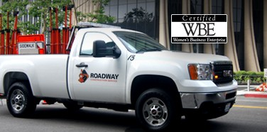 Roadway Construction Services Receives WBE Certification