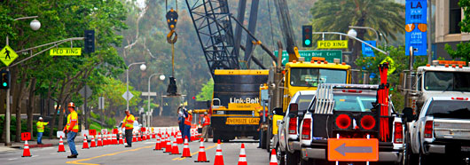 traffic control service that knows crane rental industry