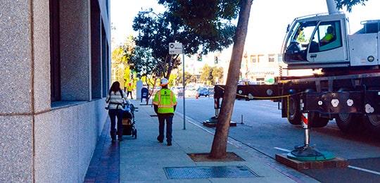 Traffic Control - pedestrian safety