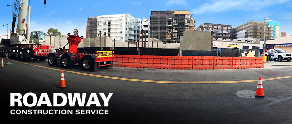 traffic Management water filled k rail solutions