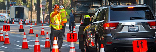 Construction Zone Traffic Safety Service CA