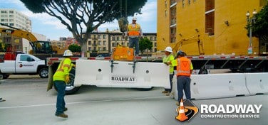 Roadway Traffic Barricades Maximize Safety