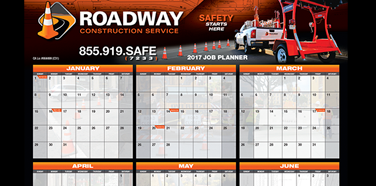 2017 Roadway Wall Calendar is now Available