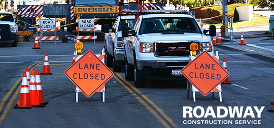 Construction Traffic Control : Road traffic control management roadway