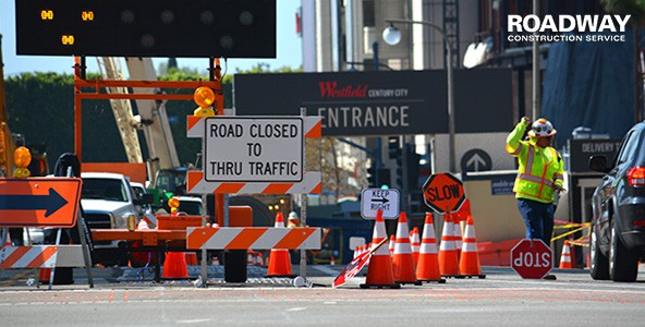 Construction Traffic Control : Traffic control solutions roadway construction service
