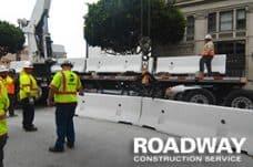 Concrete Jersey Barrier Service