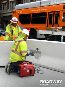 Concrete Jersey Barrier Service Rentals