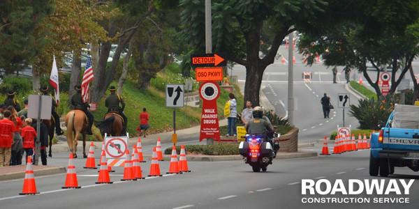 Intermittent Traffic Control Service