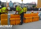 Portable High Visibility Safety Barricade Rental