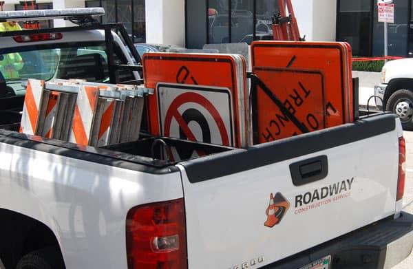 RCS Roadway Construction Services Traffic Control
