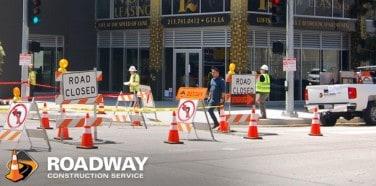 Road Barricades Traffic Control