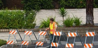 Road Work Barriers