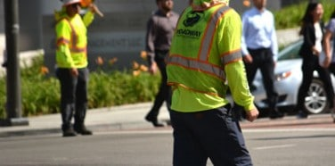 Traffic Control Flagger Service