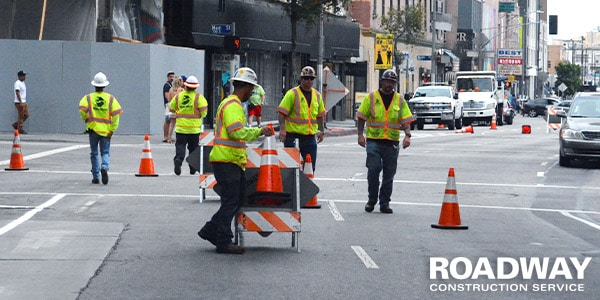 Traffic Management Barriers Cones