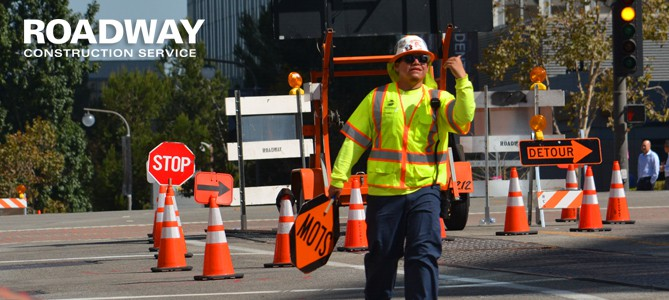 Traffic Safety Flagger