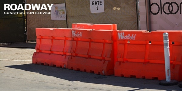 Water Filled Barriers Protection